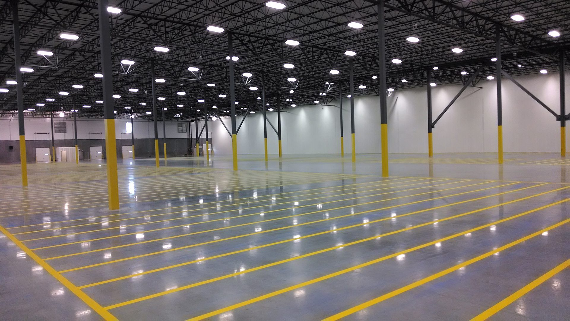 Warehouse Floor Striping Nashville TN