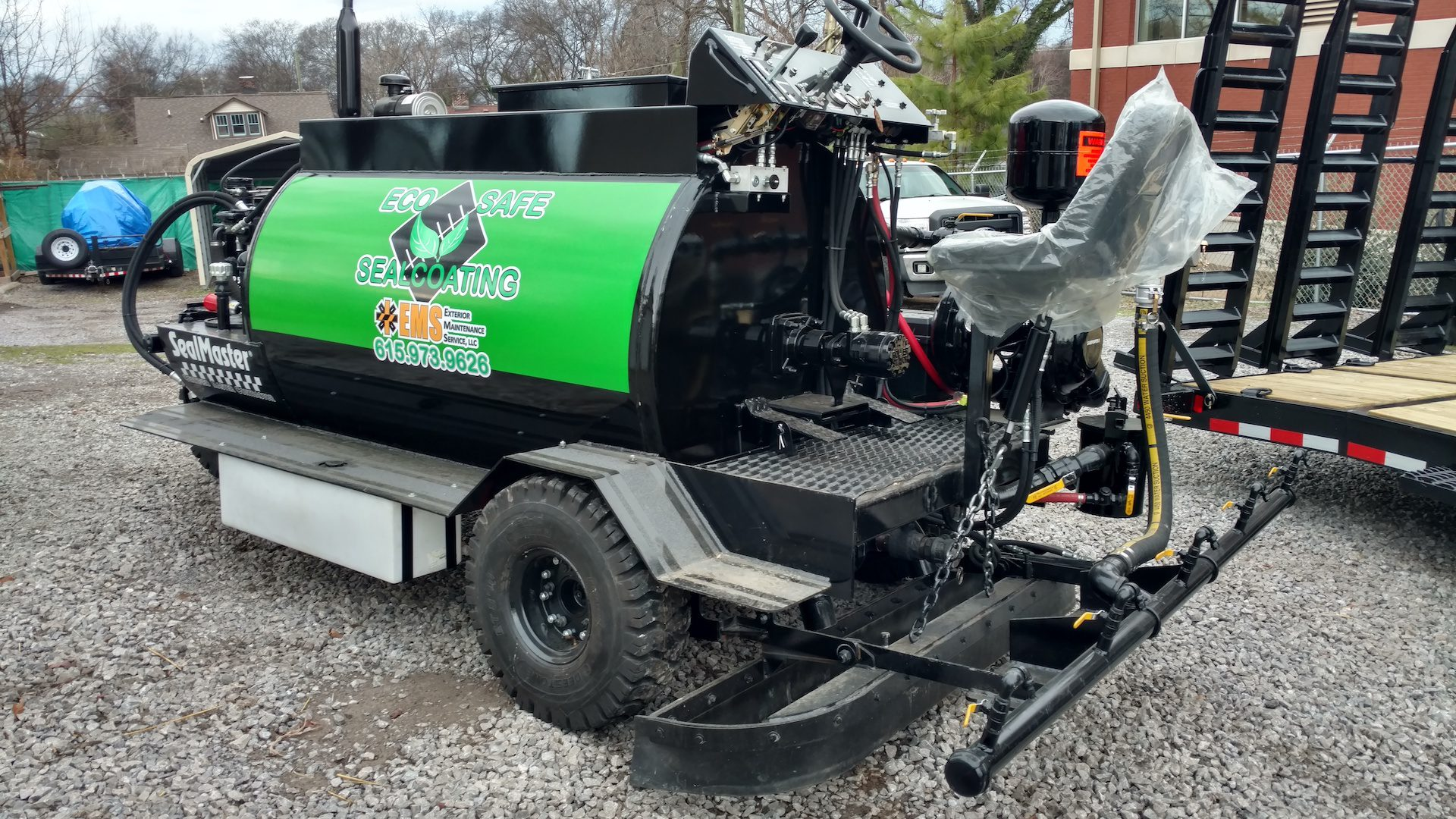 Eco safe asphalt sealing and sealcoating Nashville TN