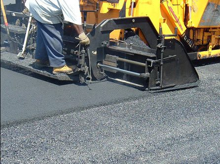 Equipment used in asphalt paving Nashville TN